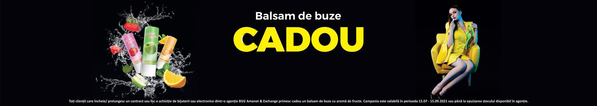"""Campania """"Balsam cadou"""""""